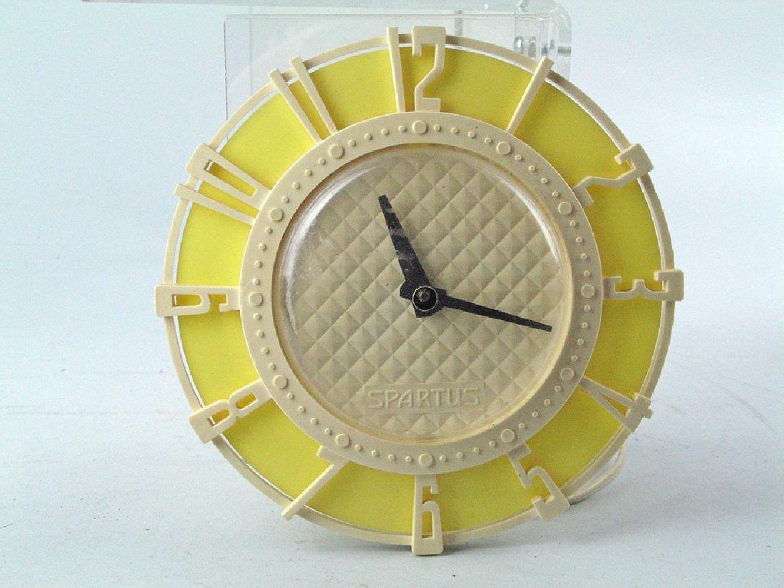 Spartus Mid Century / Deco Clock
