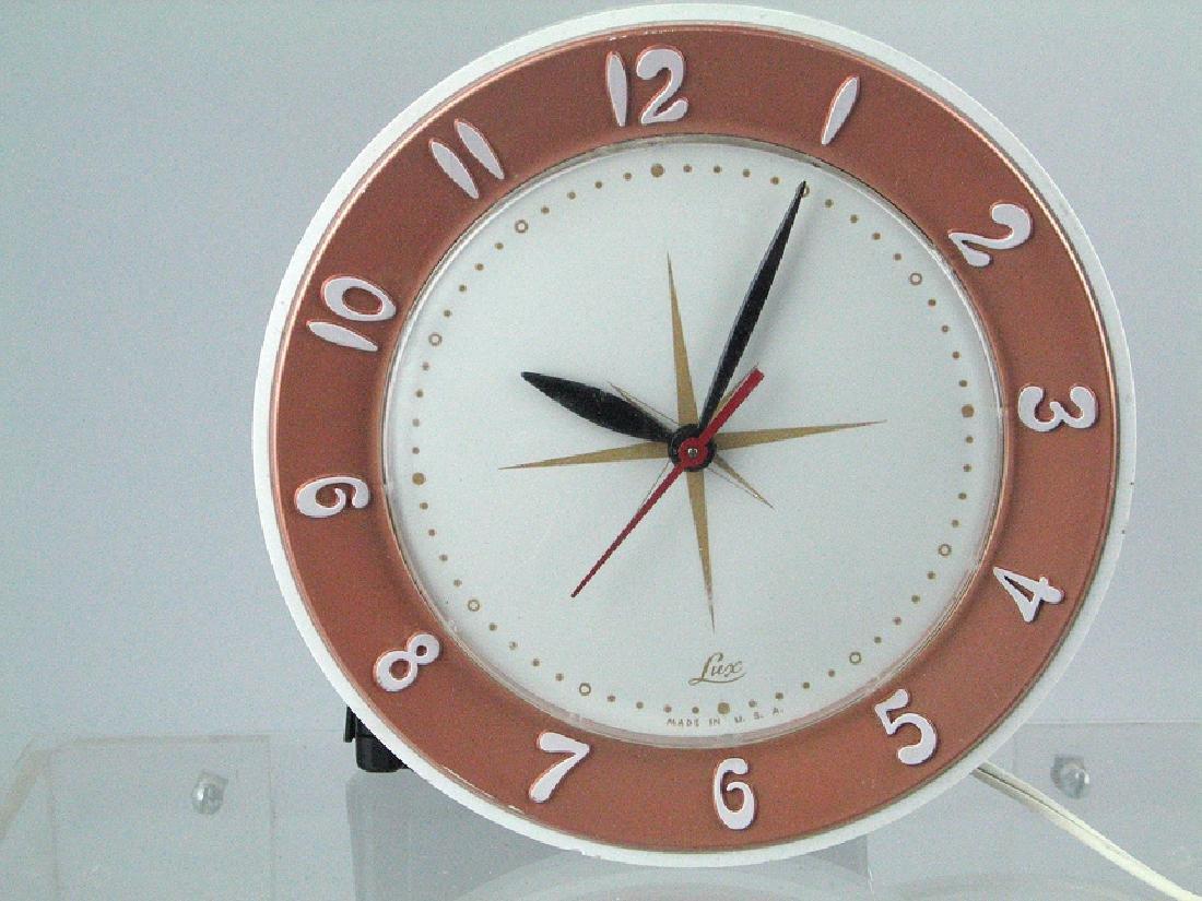Lux Mid Century Clock