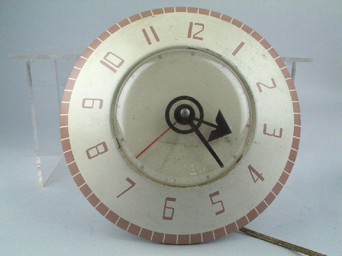 Westclox Mid Century Clock