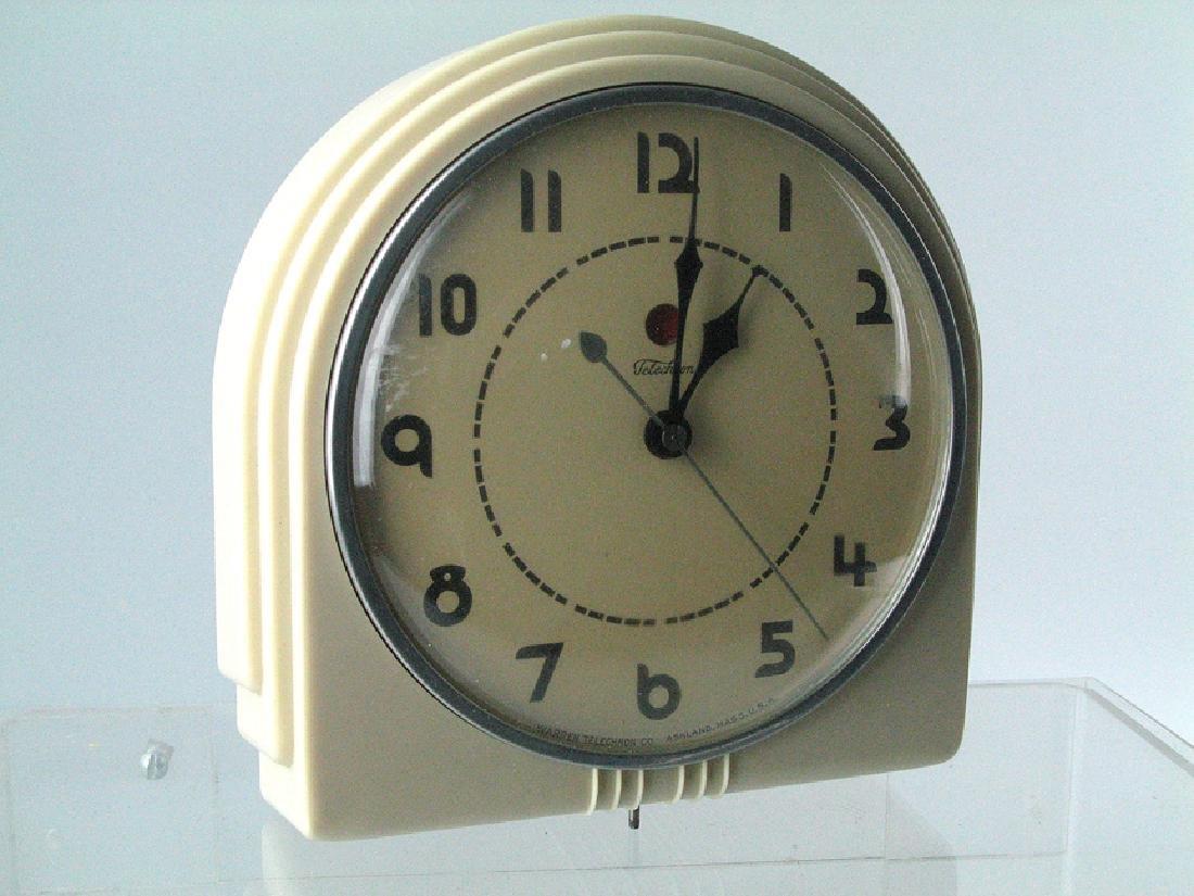 Techcron Deco Mid Century Clock