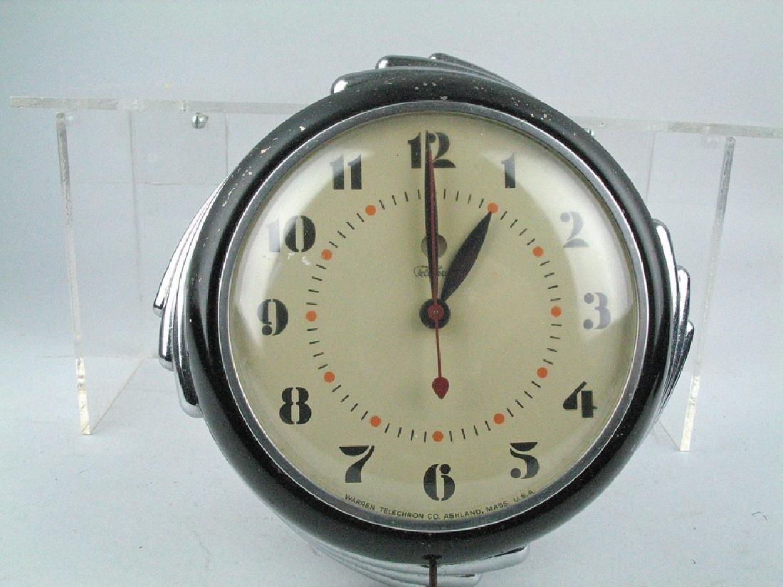 Techron Deco Mid Century Clock