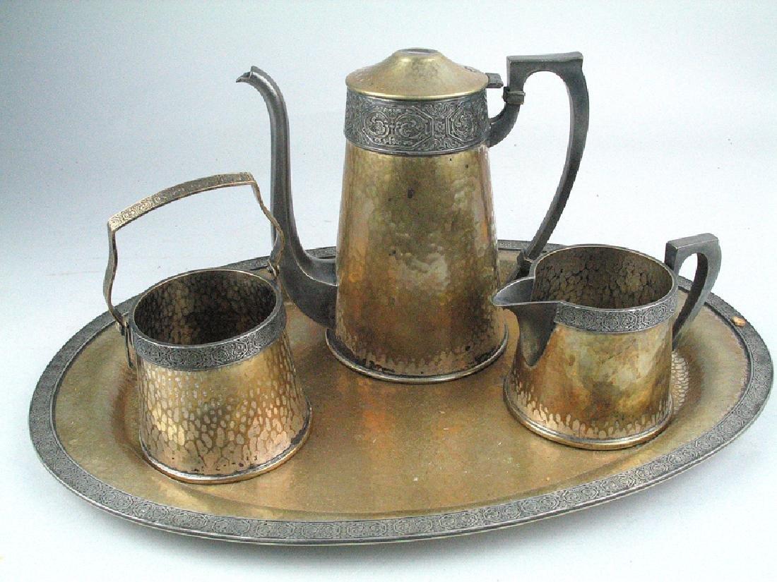 Etchardt Arts and Crafts Tea Set