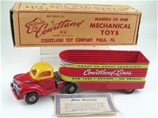 Courtland Lines Truck Tin Litho In Box