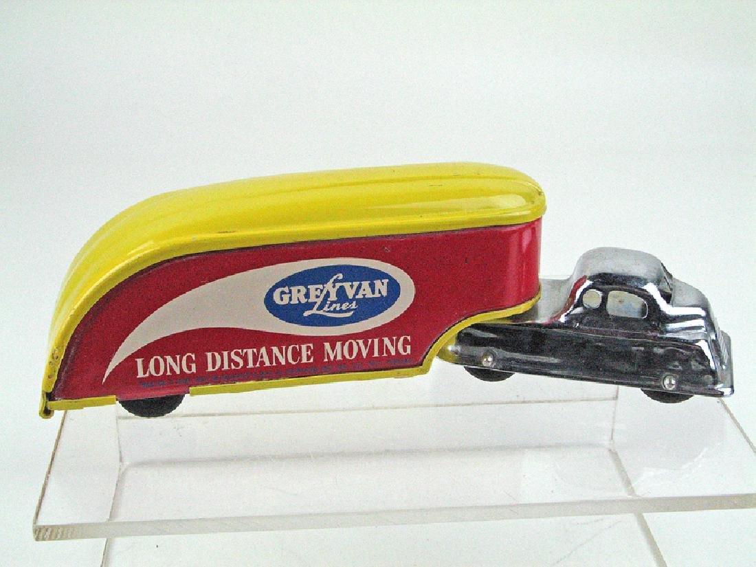 Grimland Inc Grey Van Lines Tin Litho Mover