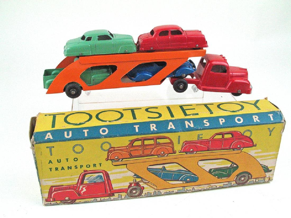 Tootsietoy Auto Transport In Box
