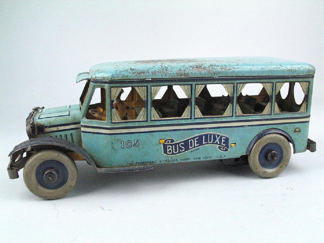 Strauss Bus Deluxe Tin Litho