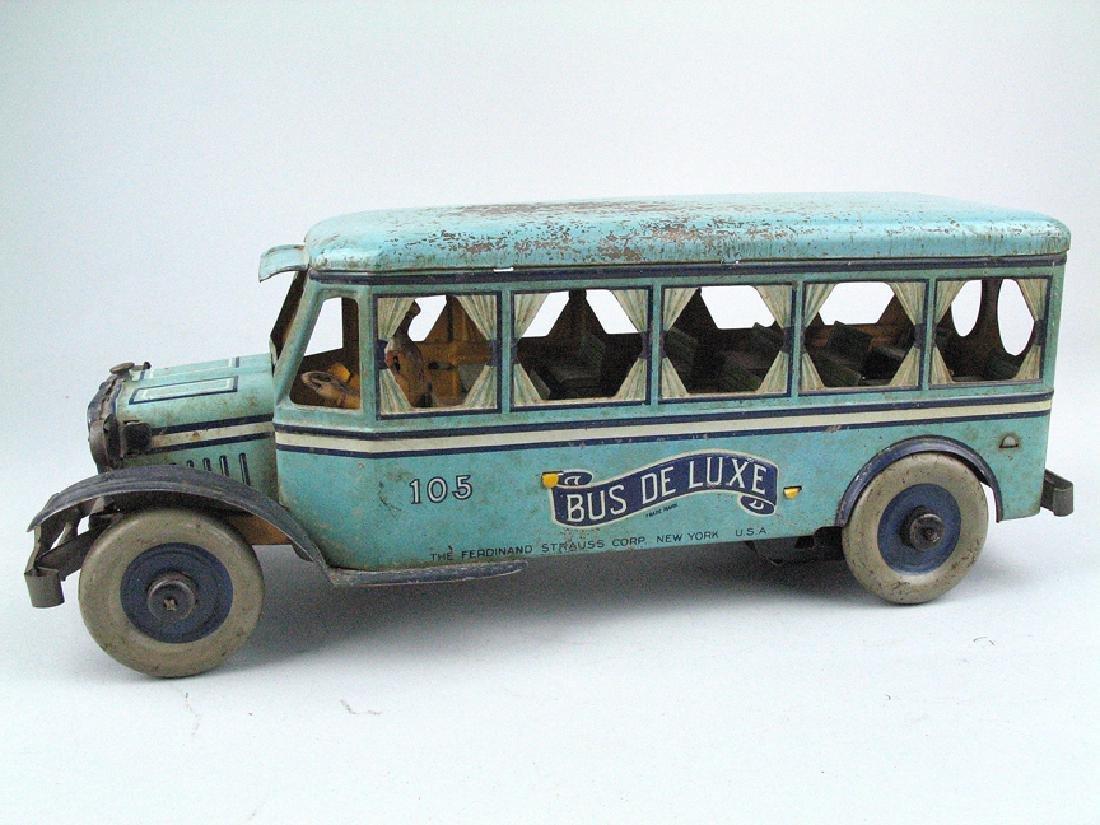 Strauss Bus Deluxe Tin Litho