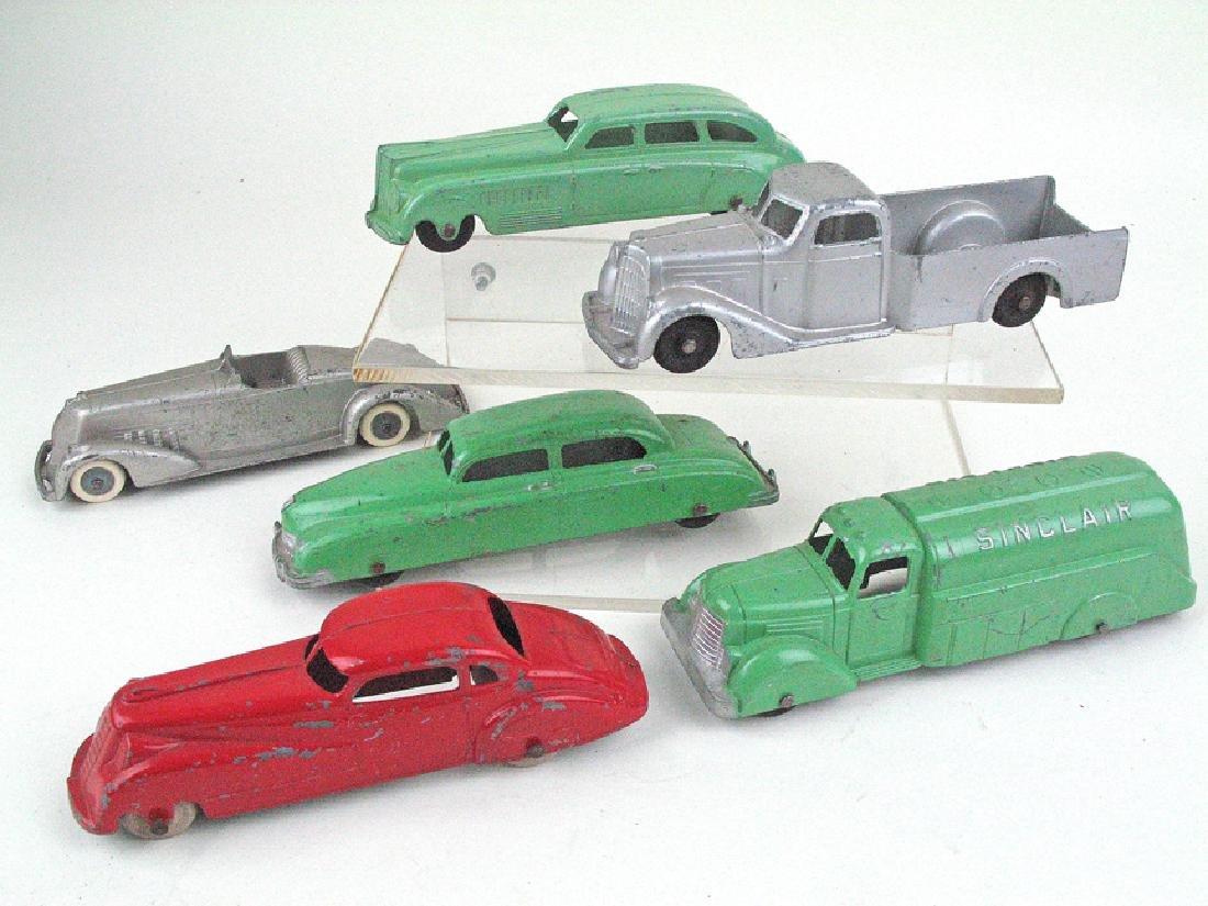 Tootsietoy Car Lot