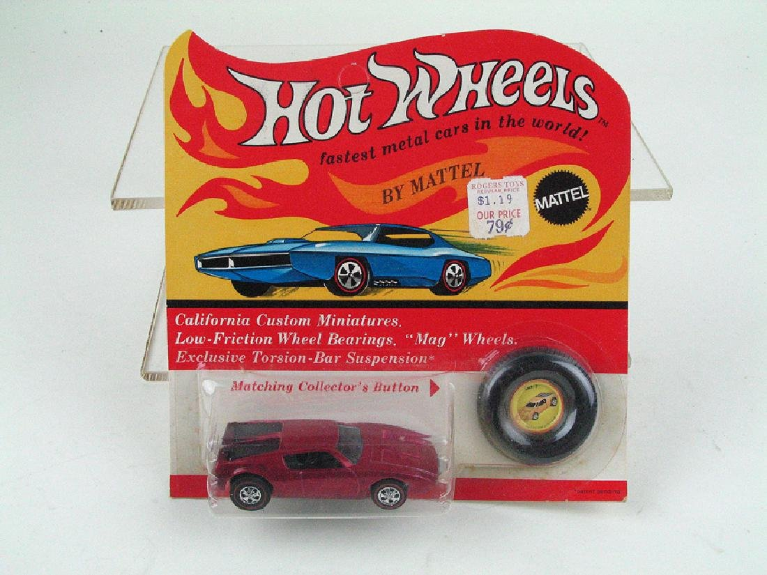 Hot Wheels Redline on Card 1960\'s