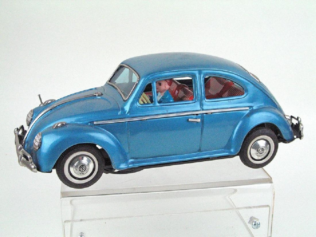 Bandai Batt Op Volkswagen Bug In Box Visible Engine