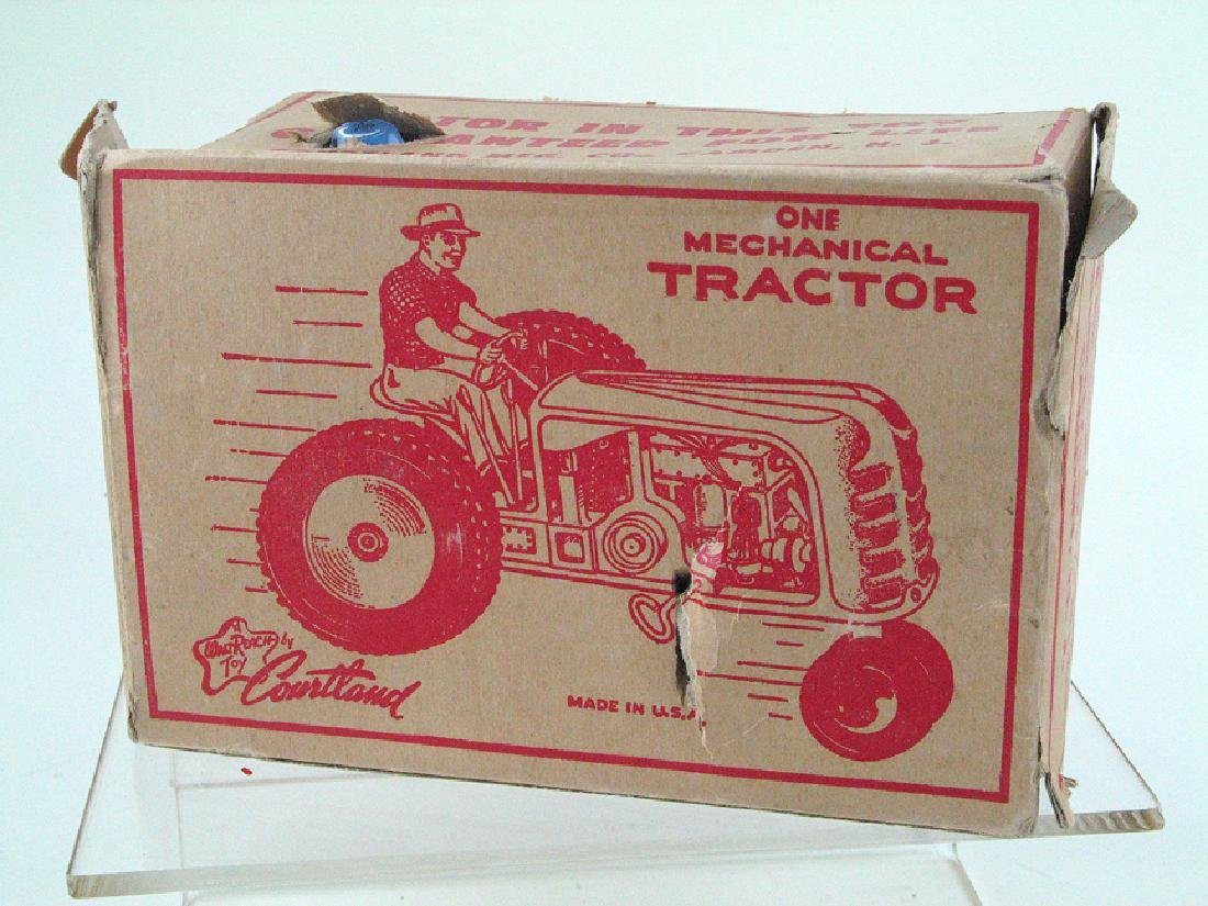 Courtland Wind Up Tractor In Box