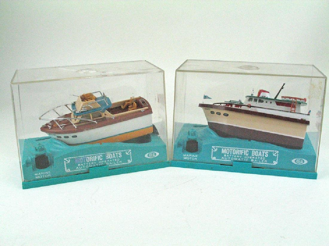Ideal Motorific Boat Lot in Box