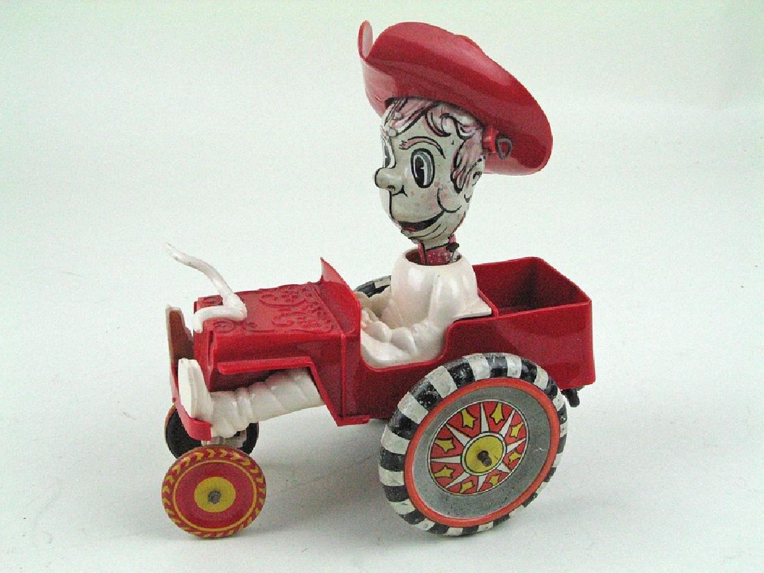 """Marx Sheriff Crazy Car 6\"""""""