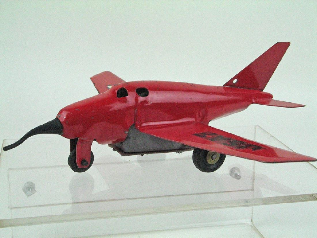 Wyandotte Jet Fighter Pressed Steel Rare