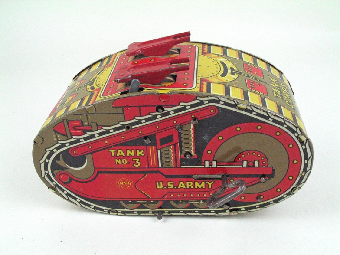 Marx Tin Litho Tank No 3