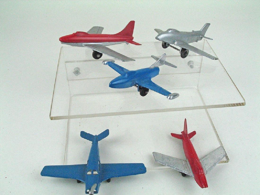 Tootsietoy Jet Plane Lot