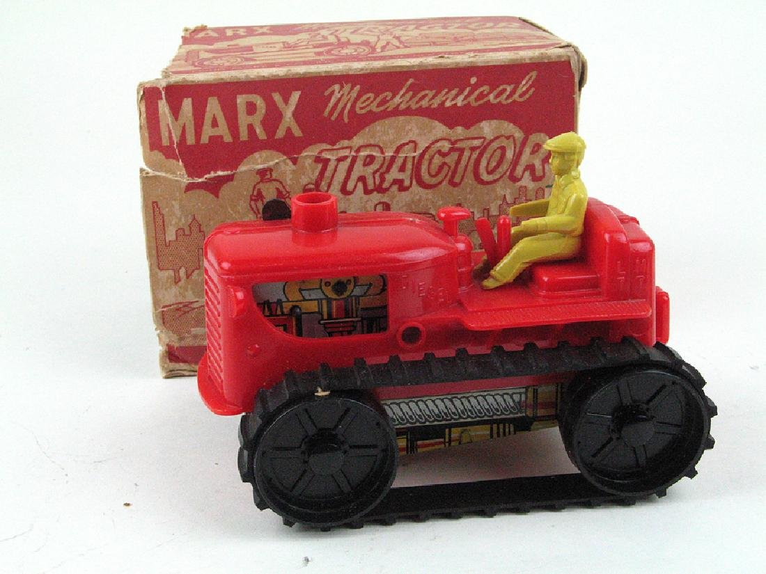Marx Tractor In Box Wind Up