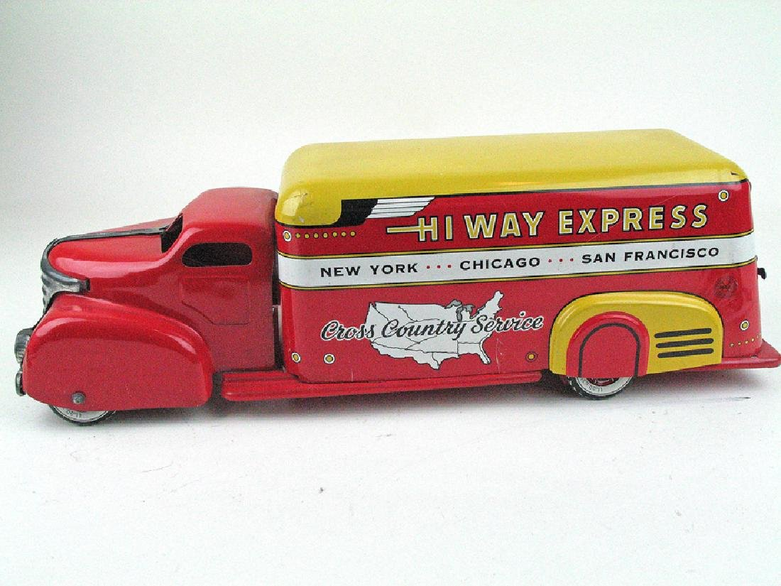 Marx Highway Express Tin Litho Truck