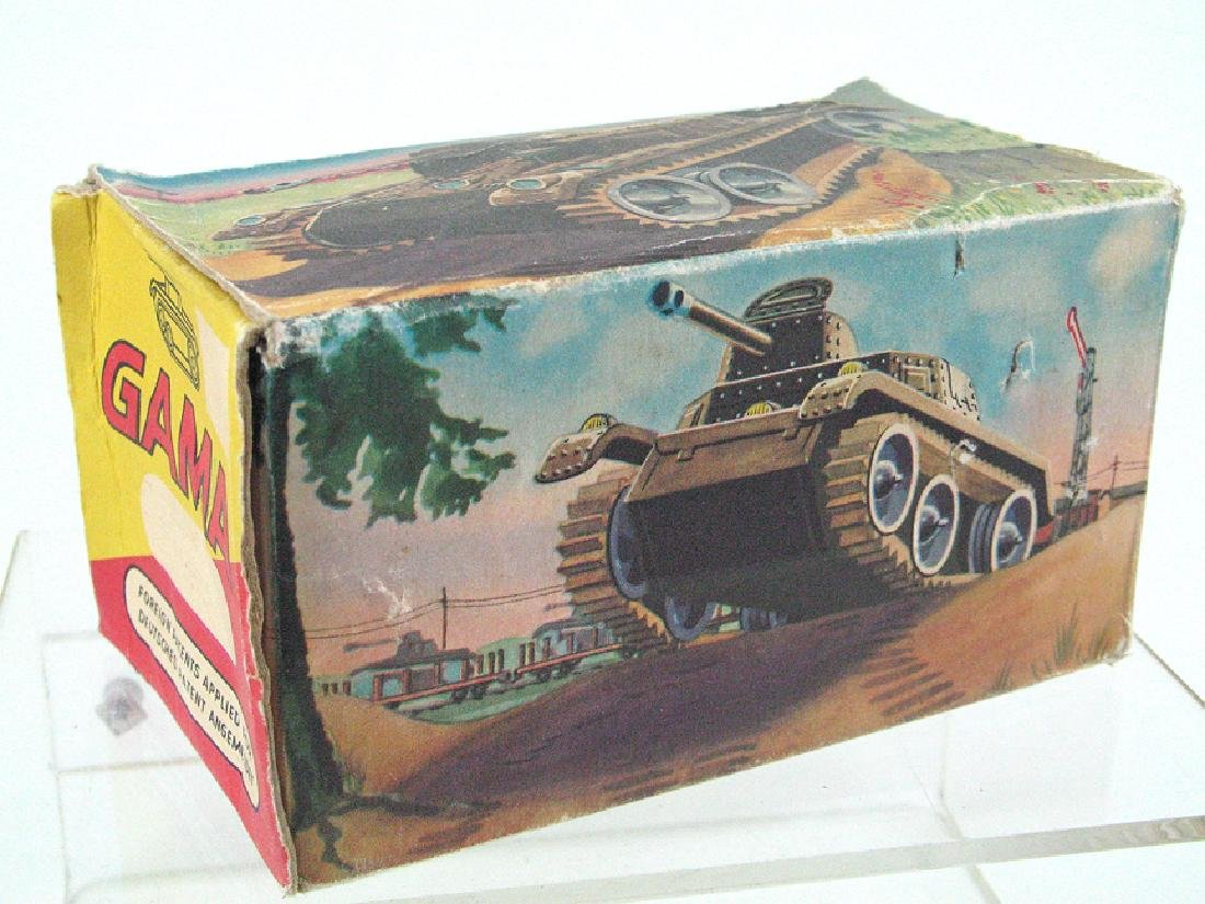 Gama Tin Litho Tank In Box
