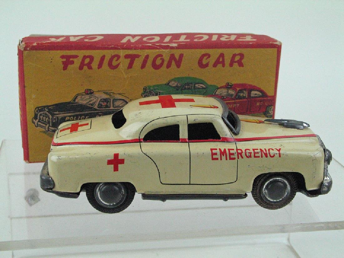 Japan Friction Emergency Car Tin in Box