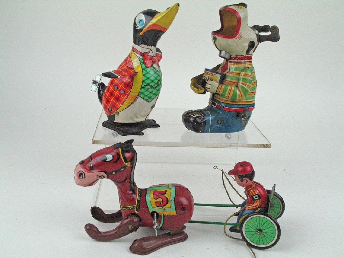 Japan Tin Litho Wind Up Lot