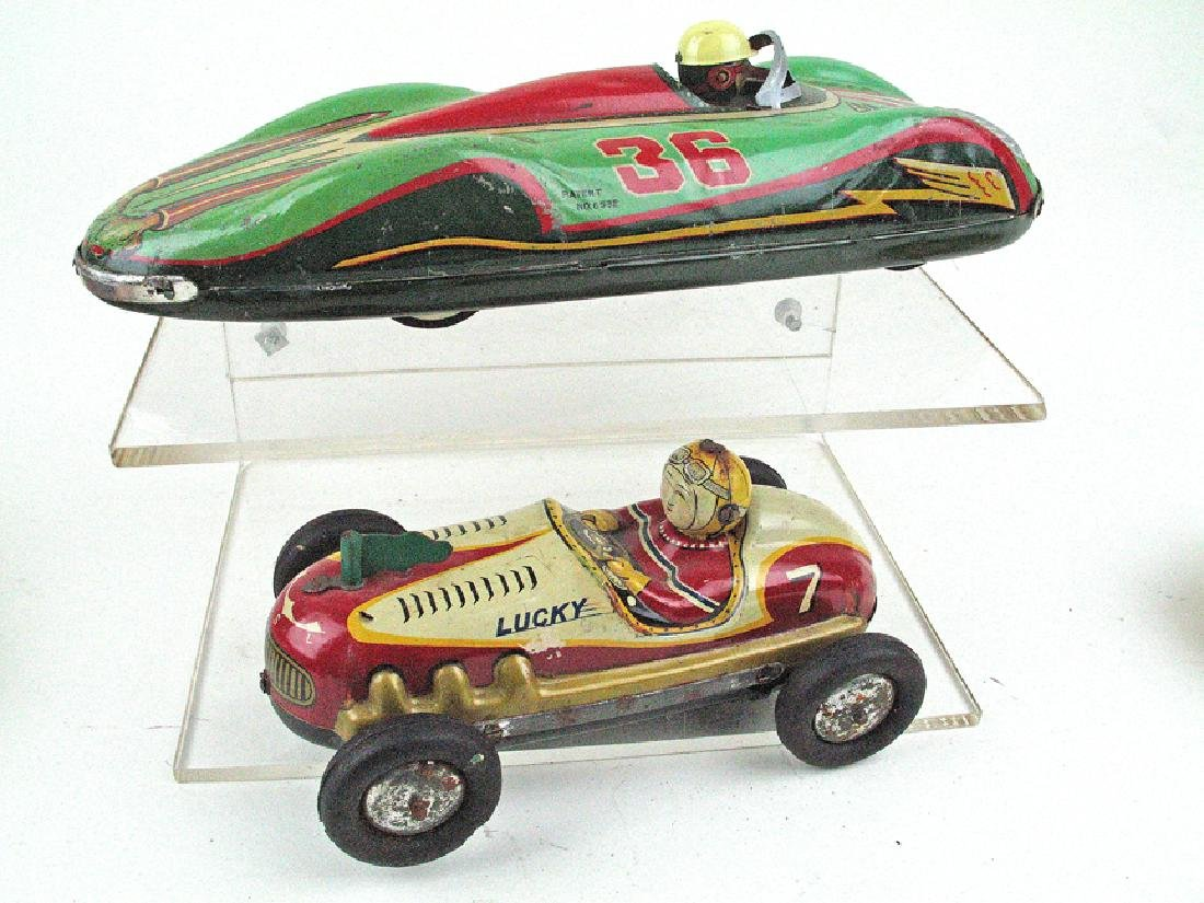 TM Japan Tin Litho Race Cat