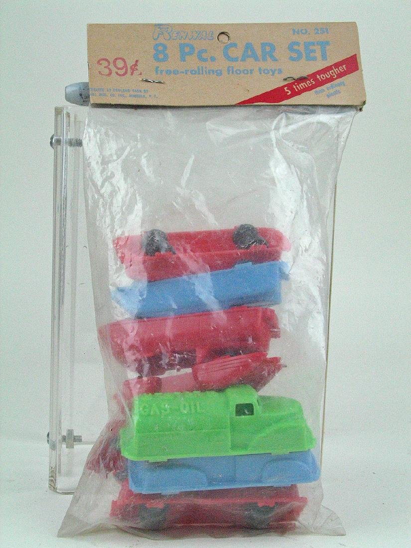 Renwall 8 Piece Car Set MIB