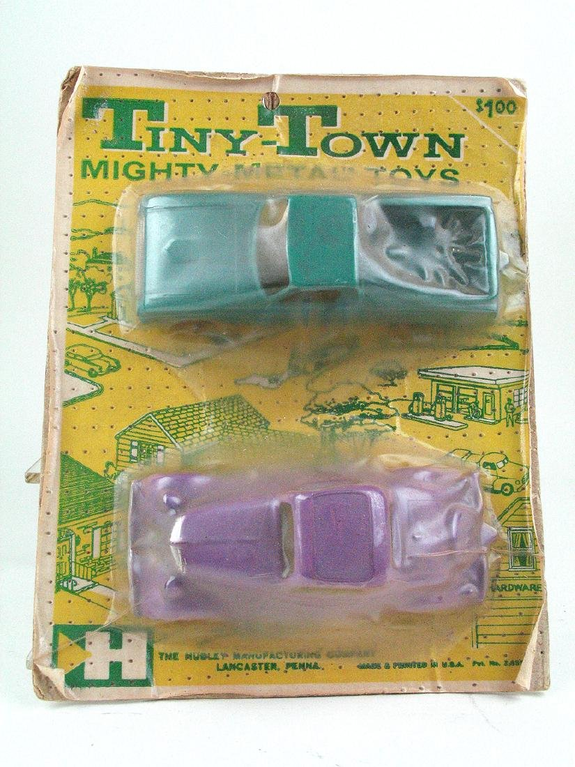 Hubley Tinytown Car Set MIB