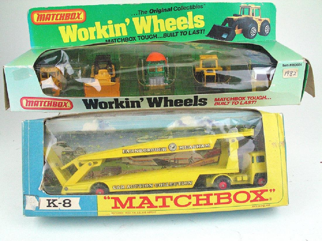 Lesney Matchbox Boxed Lot