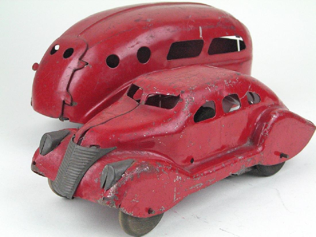 Wyandotte Airflow Car and Caravan Pressed Steel