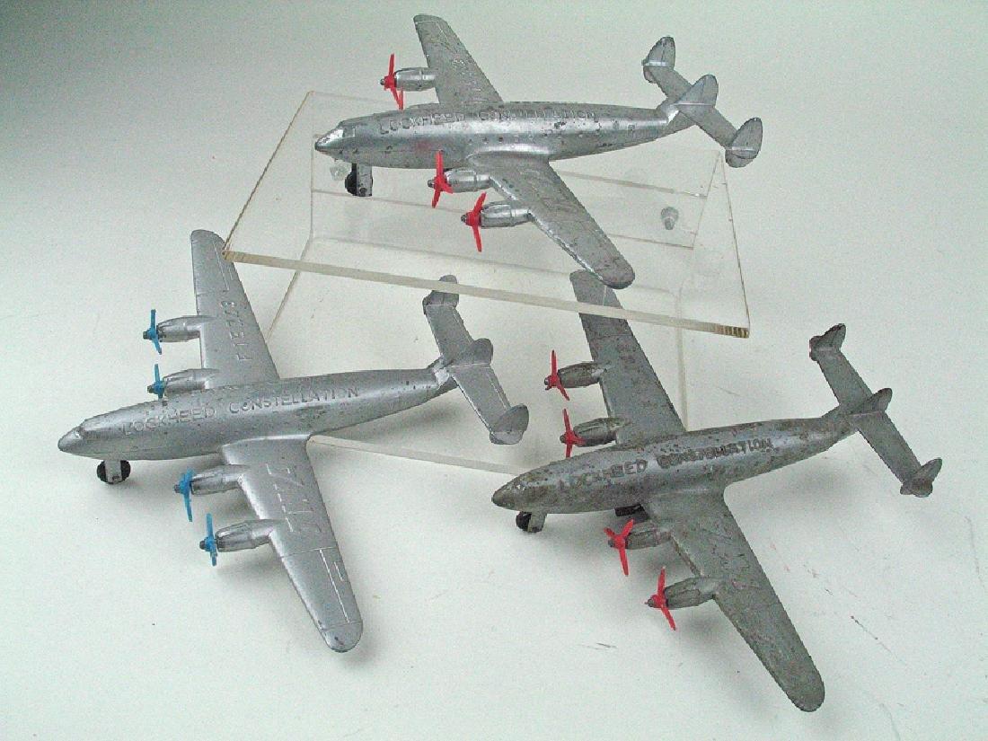 Lockheed Constellation Aluminum Plane Lot