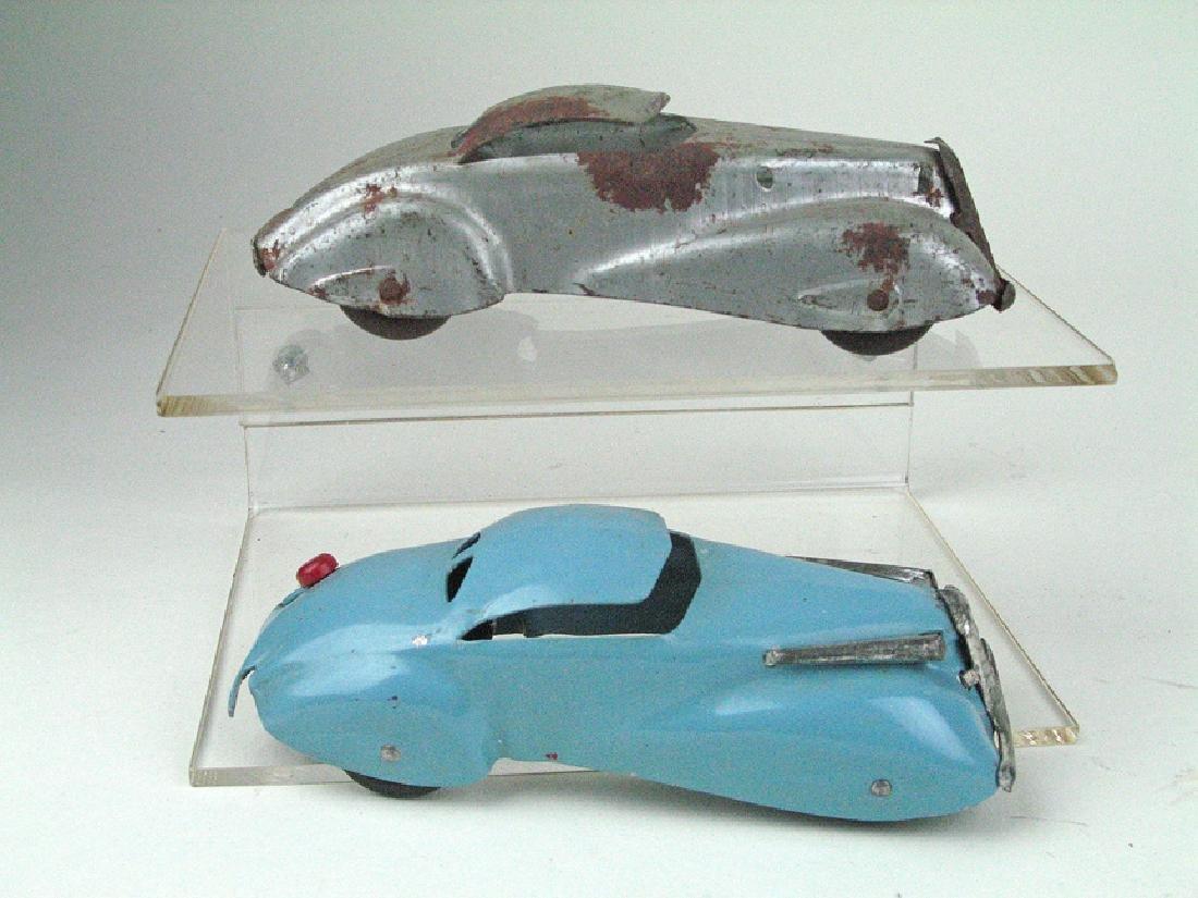 Wyandotte/Marx Pressed Steel Art Deco Cars