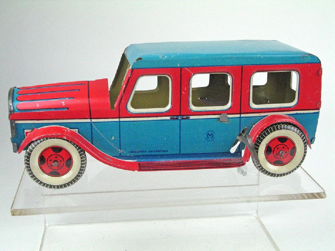 Matarazzo Argentina Tin Litho Car
