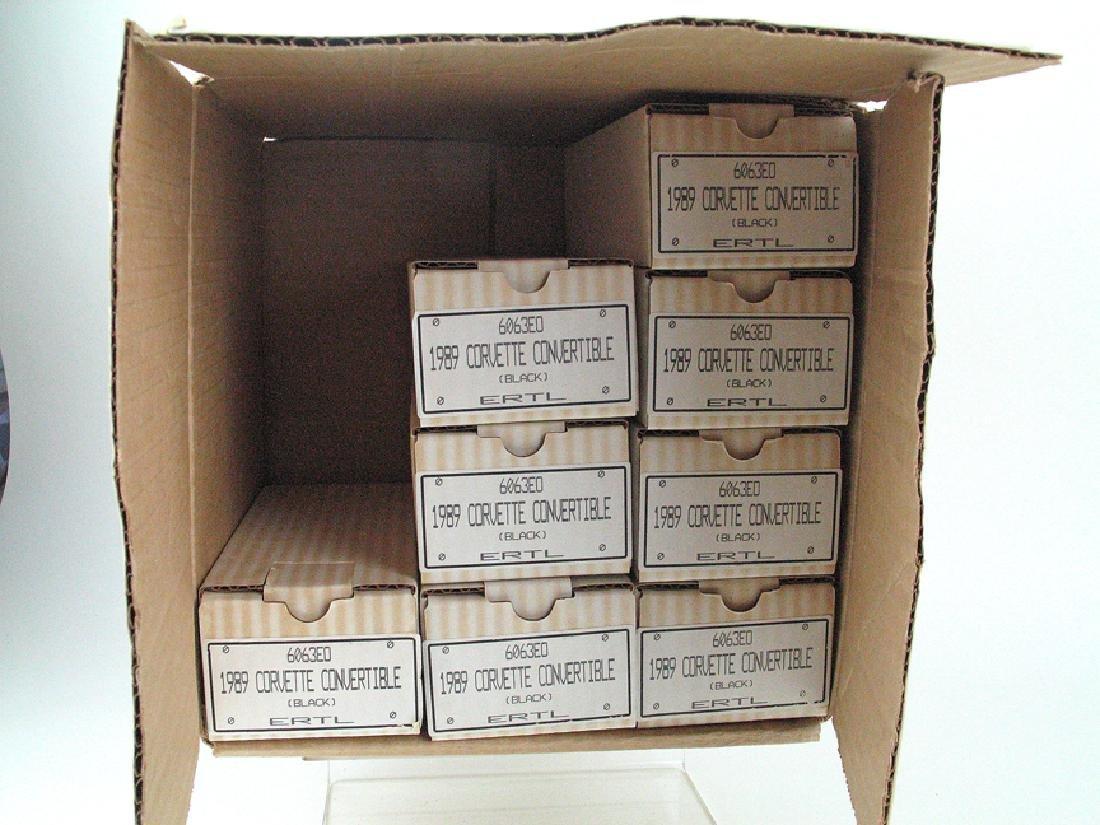 Ertl 1989 Corvette Lot Orig Shipping Box