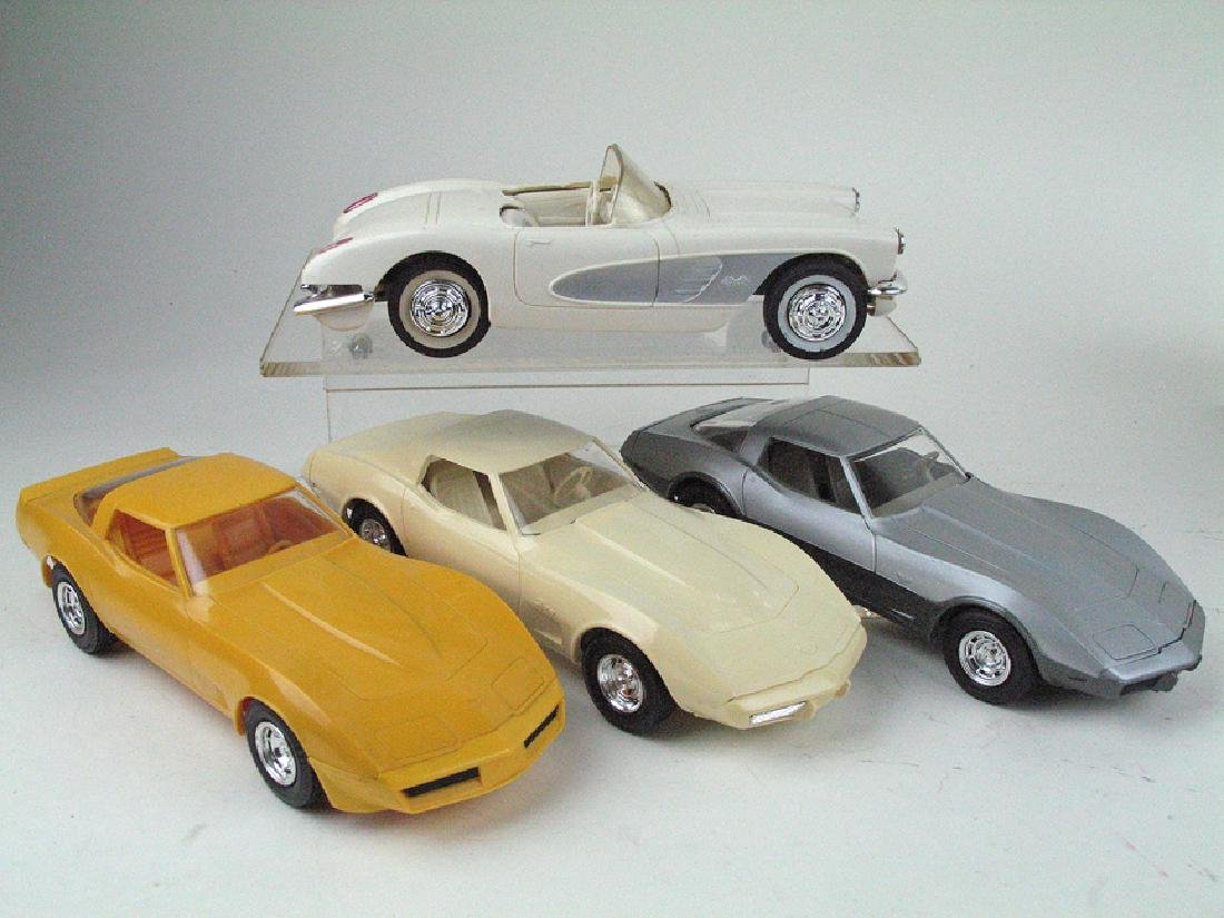 Corvette Promo Car Lot 4 Cars