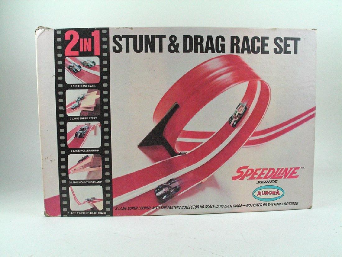 Aurora Speedline Stunt And Drag Set