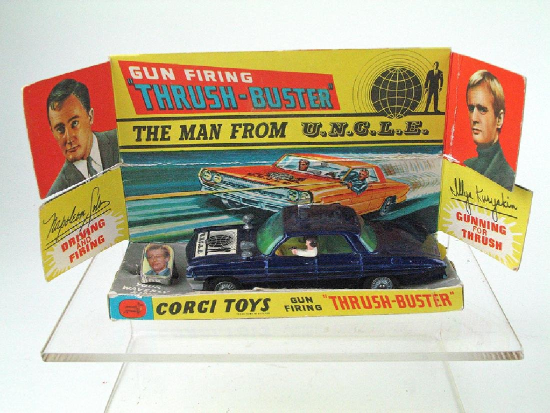 Corgi Man From Uncle In Box  Inserts Ring