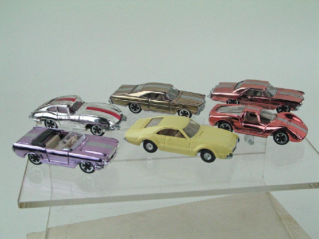 Aurora Cigar Box Car Lot