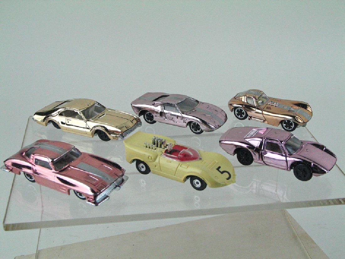 Aurora Cigar Box Car Lot