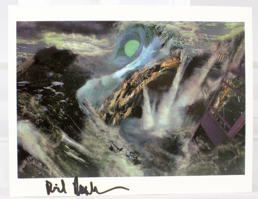 Richard Rosenblum Artist Signed  Litho Card