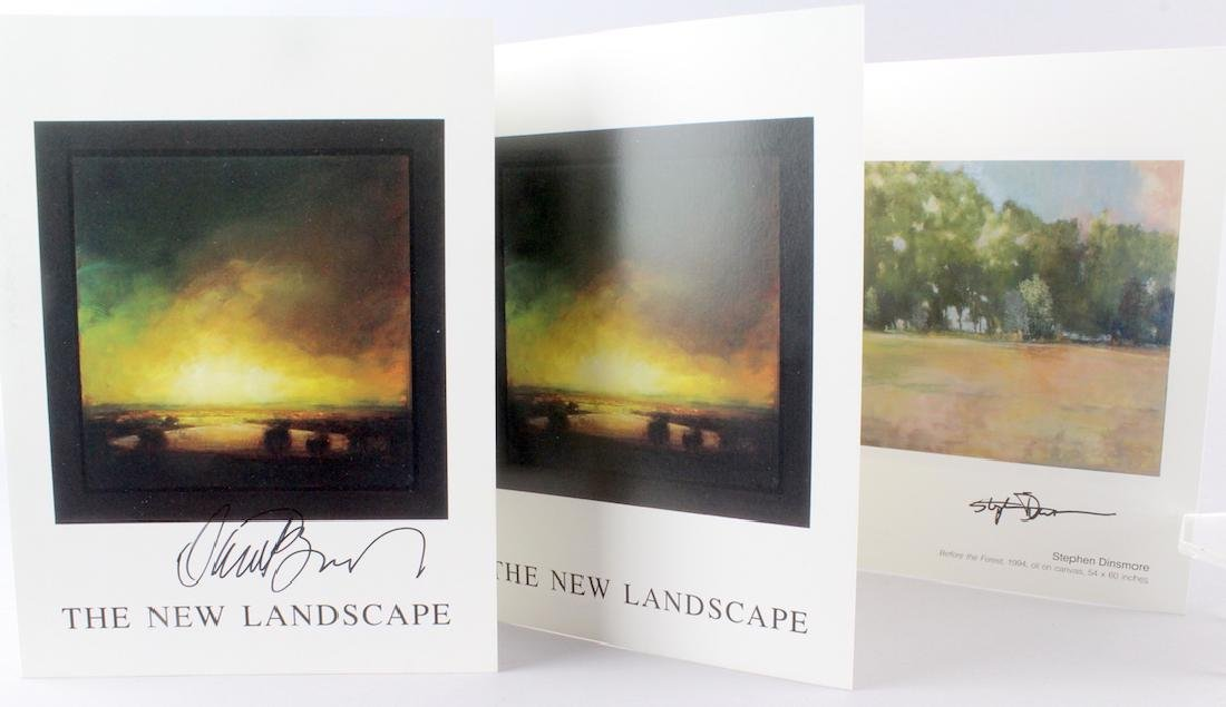 Stephen Dinsmore & David Bierk Artist Signed
