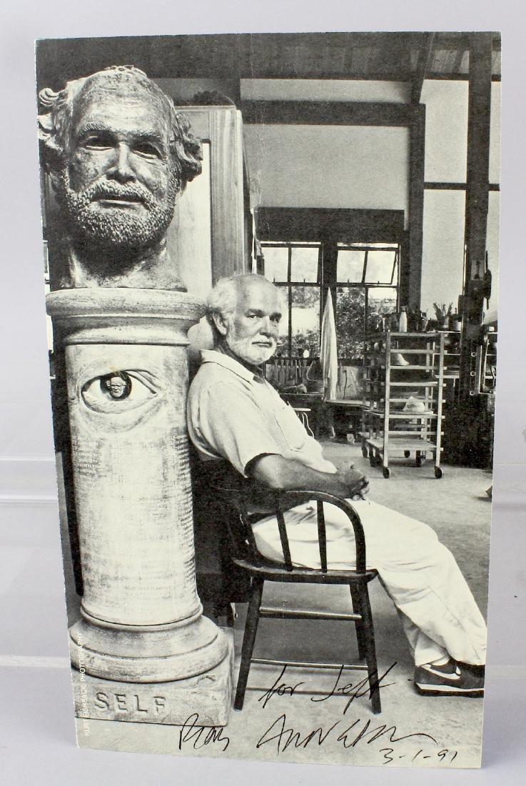 Robert Arneson Artist Signed Litho