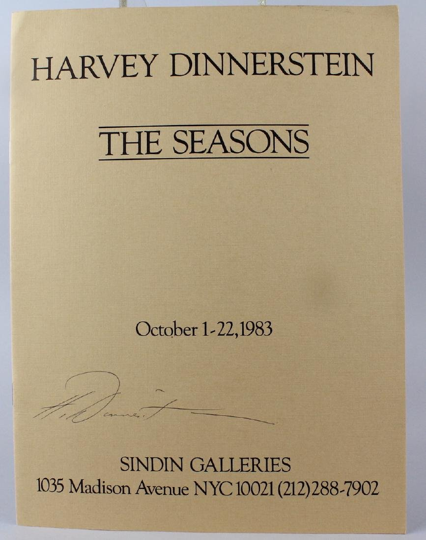 Harvey Dinnerstein The Seasons Artist Signed