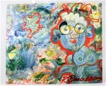 Robert Beauchamp Artist Signed Gallery Card