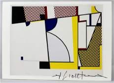 Roy Lichtenstein Signed Litho