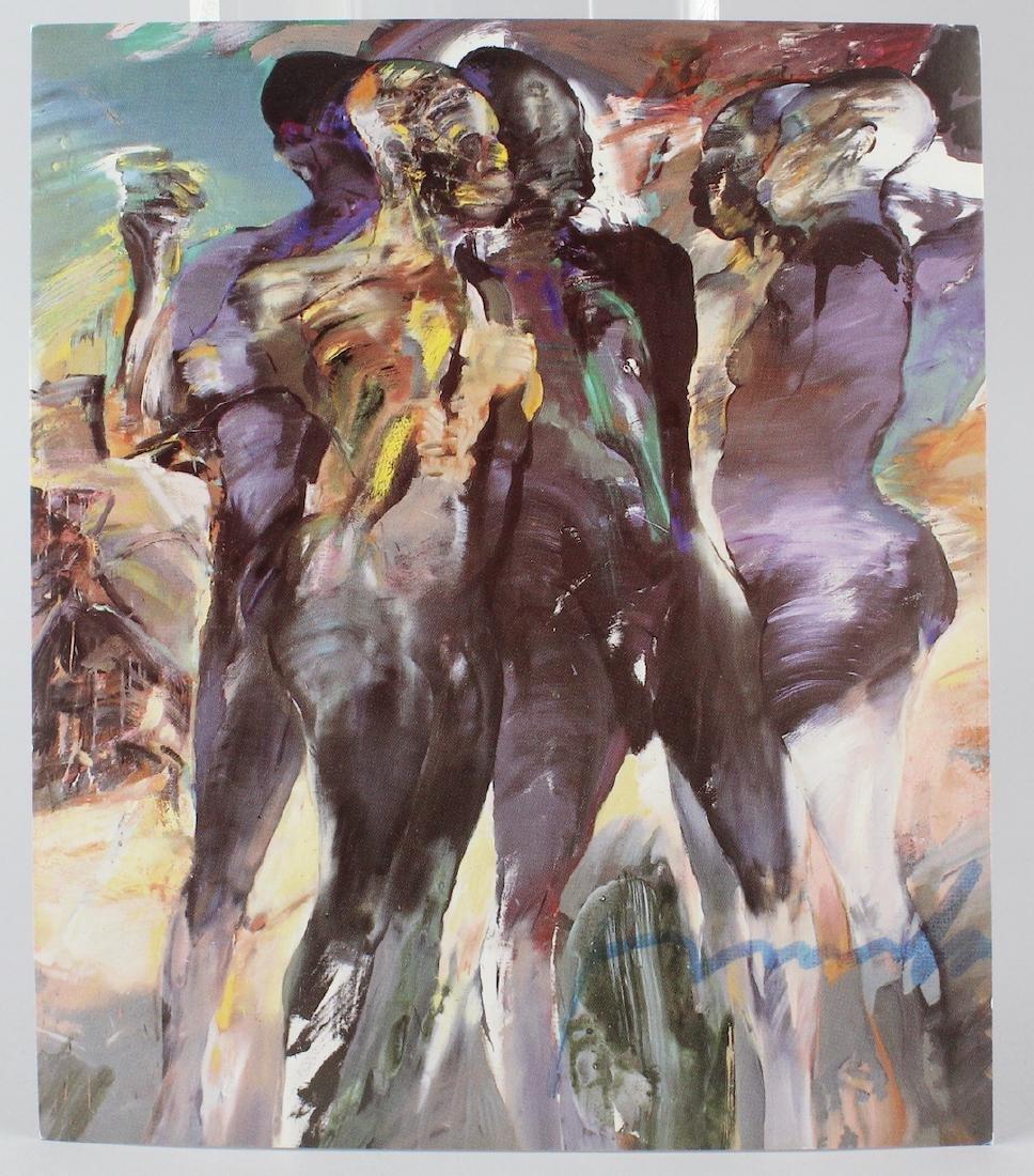 Franta Artist Signed Gallery Card