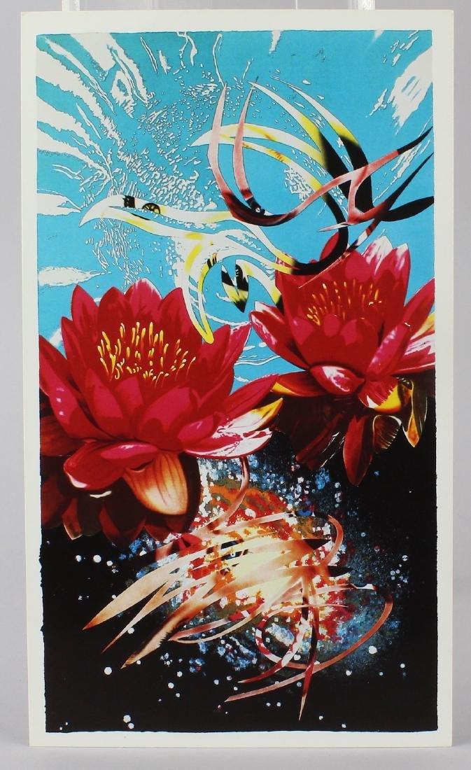 James Rosenquist Artist Signed Exhibition Card