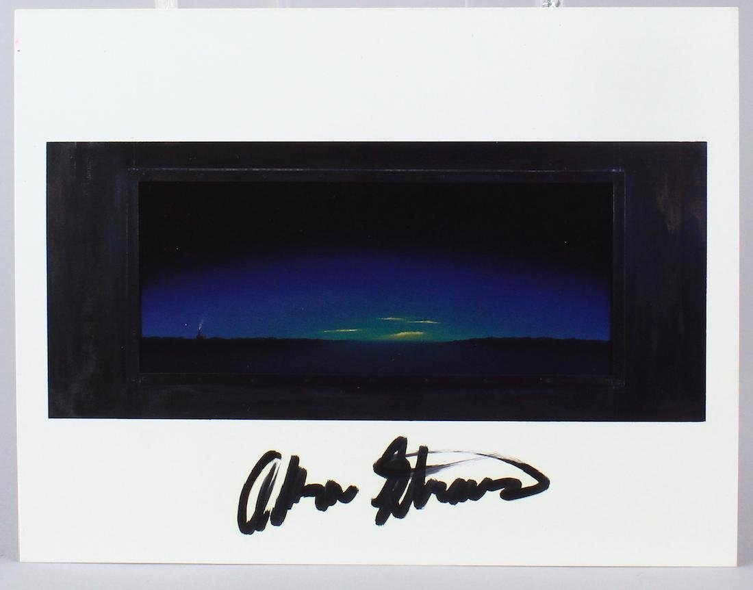 Adam Straus Artist Signed Gallery Card