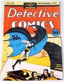 Bob Kane Signed Batman Cover