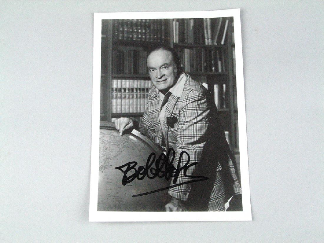 Bob Hope Signed Photo